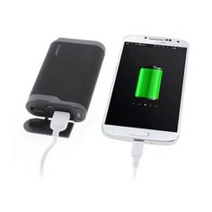 Cager (Sort) Power Bank 7800 mAh