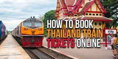 If you're looking to book Thailand train tickets online, this step-by-step guide will walk you through the pros/cons as well as the entire booking process. Train Tickets, Buy Tickets, Surat Thani, Tickets Online, Travel Dating, Train Travel, Chiang Mai