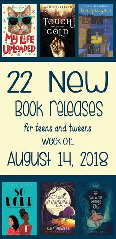 This week's newest book releases for kids and teens Middle School Books, High School Reading, Middle School Libraries, Library Skills, Library Books, New Books, Library Ideas, Books New Releases, Teen Romance