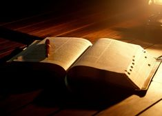 Reading and meditating on the Word of God for knowledge, comfort and guidance