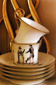 thisivyhouse:Directoire teacups