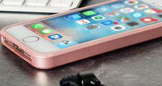Mercury Goospery iJelly iPhone SE Gel Case - Metallic Rose Gold
