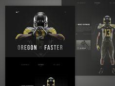 Oregon Nike Partnership by ⋈ Samuel Thibault ⋈ for Handsome