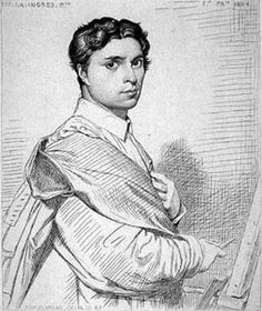 Ingres self-portrait