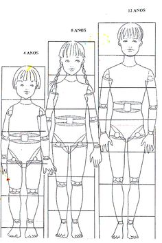 Children Illustration Proportion