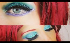The Little Mermaid Ariel Halloween Makeup Tutorial | Costume Make ...