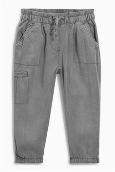 Grey Cargo Trousers (3mths-6yrs)