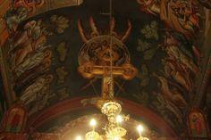 Iconographer Dimitris Maniatis – icoana Writing Icon, Orthodox Icons, Fresco, Chandelier, Ceiling Lights, Lighting, Home Decor, Amazing, Fresh