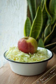 Kochen mit Herzchen - ♥ Mein Koch-Tagebuch mit viel Herz ♥: Schneller Krautsalat mit Spitzkohl