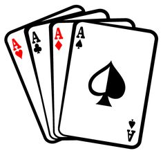 Four aces poker cards clip art Free Vector Illustration, Vector Art, Playing Card Tattoos, Card Tattoo Designs, Image Svg, Ace Card, Playing Card Games, Card Drawing, Clip Art