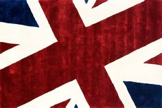 Another unusual rug design, 'Union Jack' which featured on This Morning TV show. Union Jack Rug, Union Jack Decor, Uk Flag Wallpaper, Wallpaper Stickers, Cross Wallpaper, Morning Tv Shows, You Don't Know Jack, Union Flags, Celtic Patterns