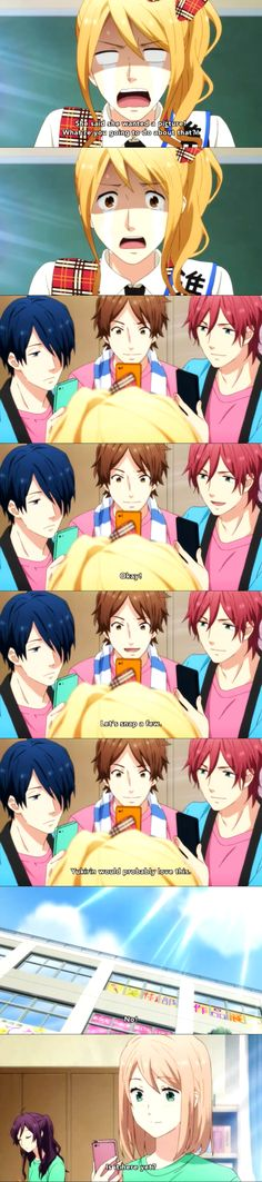 Nijiiro Days, Rainbow Days It's so funny how he is force to crossdress and all his friends laugh at him like crazy XD