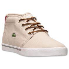 Кроссовки ( кеды ) мужские оригинальные Производство США Lacoste Men's Ampthill TBR Casual Shoes ( лакосте )