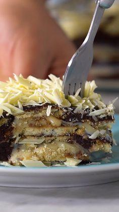 No-Bake Eclair Cake - Gesundes Naschen - .