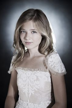 Jackie Evancho, age 13. One of the most beautiful voices I have ever heard.  Beautiful girl.