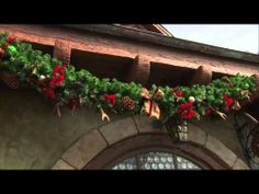 Behind the Scenes: Decorating New Fantasyland at Magic Kingdom Park. - it's fascinating to see all the detail and thought that goes into decorating WDW for the holidays.