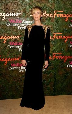 Charlize Theron in Alexander McQueen - 2013