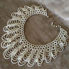 Vintage perl collar chocker-Necklace Nice vintage perl chocker-Necklace Vintage Jewelry Necklaces