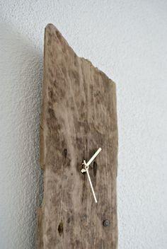 Treibholz - Wanduhr II von nordic Art auf DaWanda.com