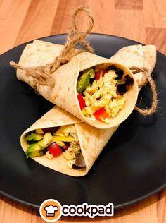 #Απλή, #γρήγορη και πολύ #υγιεινή #συνταγή. #χορτοφαγική #σνακ #συνταγές #recipes #vegetarian #wrap #snack Tacos, Brunch, Mexican, Breakfast, Ethnic Recipes, Food, Breakfast Cafe, Essen, Yemek
