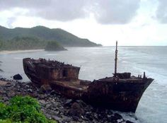Abandoned Ship On The Coast Of American Samoa Abandoned Ships, Abandoned Places, Hms Bounty, Ghost Ship, Newfoundland And Labrador, Floating In Water, Lost Soul, Shipwreck, Online Images