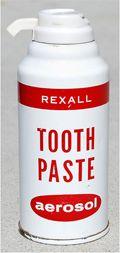 toothpaste aerosol