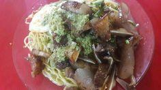 The best boiled noodle (mine bouilli) in Mauritius - Mine bouilli viande mirroir zoreil a la Bruno!
