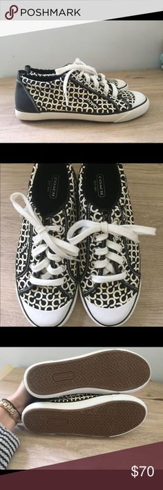 Coach tennis shoes New, worn once coach tennis shoes! Coach Shoes Sneakers