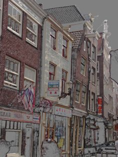 Photoshop of some of my favorite Amsterdam photos