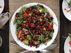 Smokehouse Chickpeas 'N' Greens Salad From 'Salad Samurai'