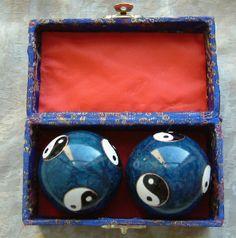 Yin and Yang stress balls.
