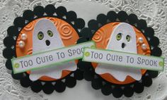 Your place to buy and sell all things handmade - Scrapbooking Halloween Paper Crafts, Halloween Tags, Christmas Crafts, Halloween Ideas, Candy Bar Covers, Candy Cards, Vintage Scrapbook, Scrapbook Embellishments, Fall Diy