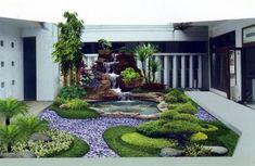 Minimalist Garden Design Ideas - Home Design Minimalist Garden, Minimalist Home, Small Backyard Landscaping, Small Patio, Backyard Designs, Landscaping Tips, Home Design, Design Ideas, Patio Design