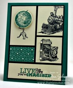 June's Lesson of the Month: It's Like Stamping with Me in My Kitchen - The Stampin' Schach