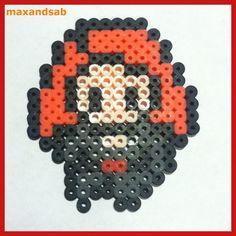 Perler Bead Black Widow by maxandsab
