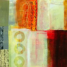 collage journeys: Layering and Making Textures by Jane Davies