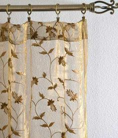 Curtains Sheer Embroidered Now If They D Just Stop Making Them All On Shiny