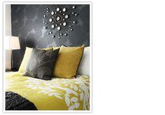 Nest Instinctual Interior Design #bedroom #stencil #wallpaper #wall_decor #wall_finishes
