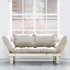 Futon Sofa (colour Natural) by Karup