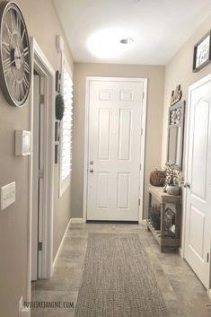 Entryway, home entrance decor, entryway ideas, small entrance, narrow entry Apartment Entrance, Home Entrance Decor, House Entrance, Entryway Decor, Entryway Ideas, Home Decor, Entrance Ideas, Hallway Ideas, Small Entrance Halls