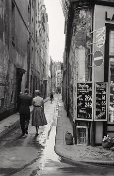 Paris, 1954, Inge Morath