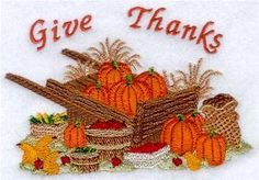 Machine Embroidery Designs at Embroidery Library! - Thanksgiving - Harvest