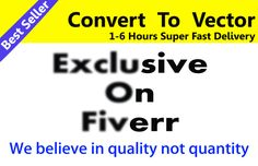 For only $5, suman15 will convert To Vector With Adobe Illustrator. | Hello,Are you looking forvector file for printing?I will convert your raster logo, image, font, sketch to the high-resolution vector file. On Fiverr.com    #coverttovector #vectortrace