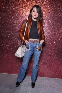 Selena Gomez at Coach Fashion Show in New York 09/12/2017. Celebrity Fashion and Style | Street Style | Street Fashion