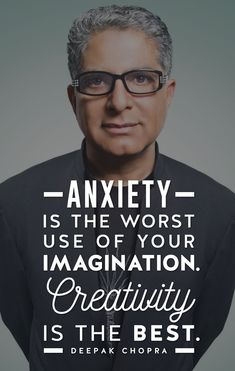 Deepak Chopra's Quick Tips on How to Stop Your Anxiety #anxietyrelief