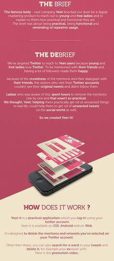 Veet it by Awesome Broduction , via Behance