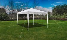 Outdoor Party Tent 3x3m White Folding Canopy Marquee Garden Gazebo Camp Wedding