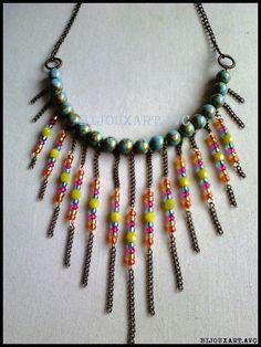 Alicia (@bijouxartavc)   Twitter #necklace #handmadejewelry