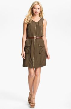 MICHAEL Michael Kors Cargo Dress available at #Nordstrom