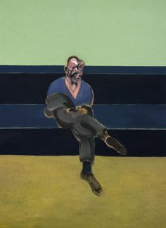 "loverofbeauty: "" Francis Bacon: Portrait of P.L. (1962) """